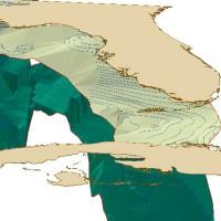 Florida Geological Survey Deep Stratigraphy 3D Rendering