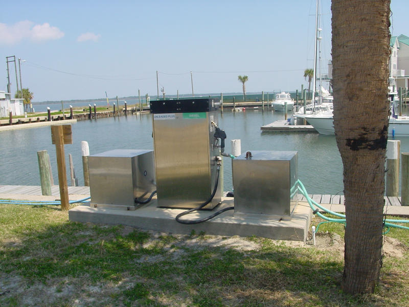 Alligator Point Marina Fueling Pump