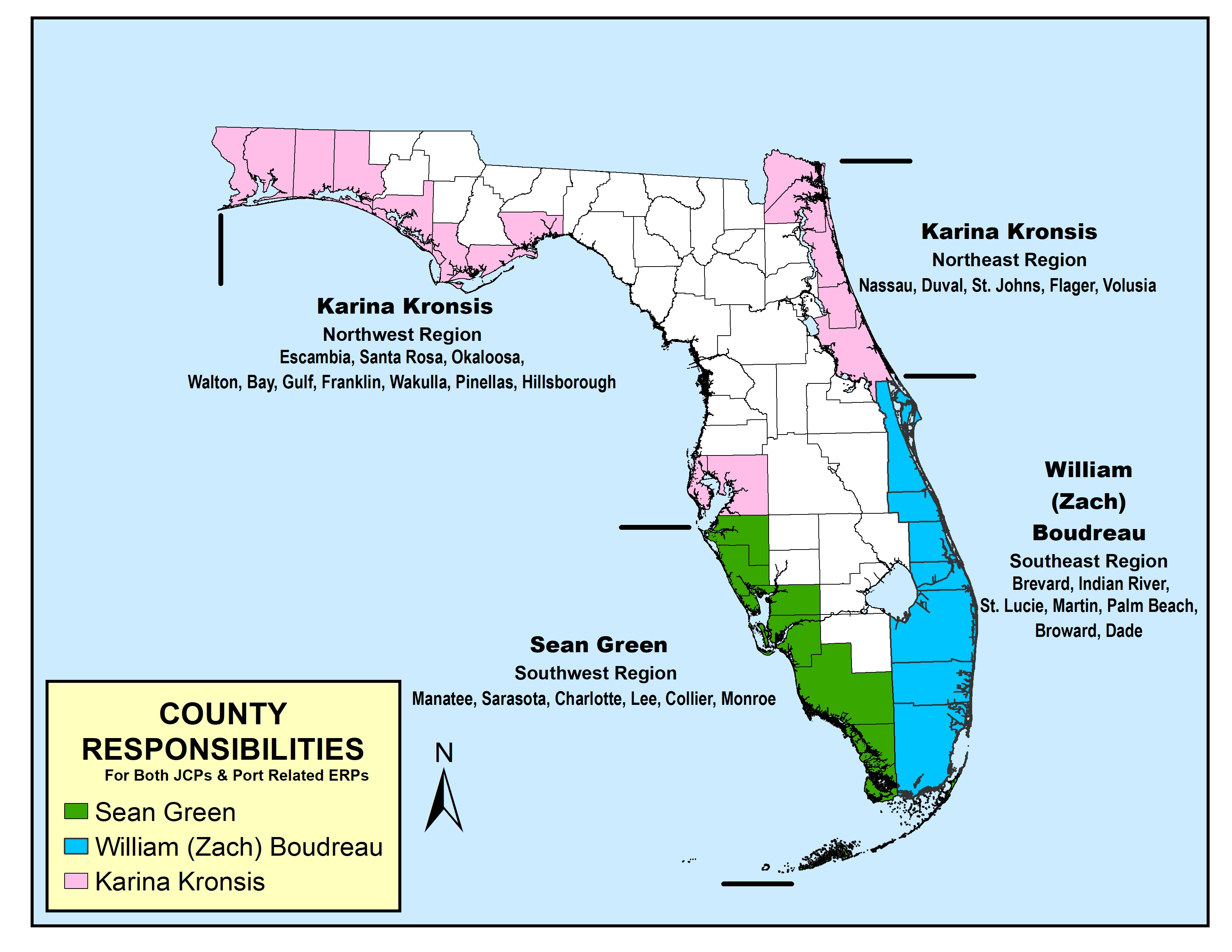 GIS Map of BIPP Permit County Assignments