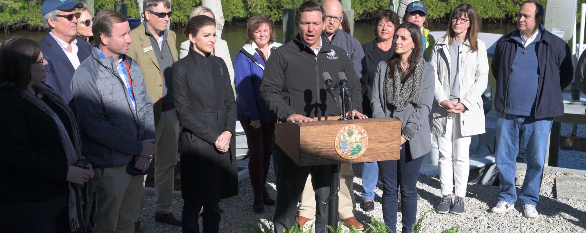 Ron DeSantis - Protecting Florida Together Speech