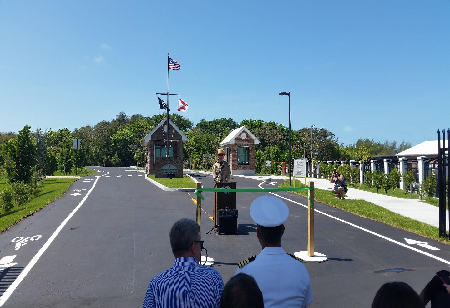 Fort Zachary Taylor State Park New Entry Station Ribbon Cutting Ceremony, May 2, 2017