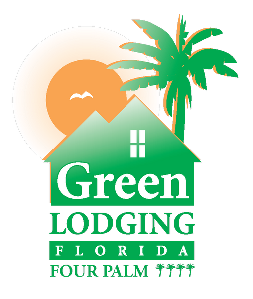 Green Lodging Logo - Four Palm