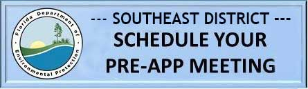 Southeast Disctrict Schedule you pre-app meeting