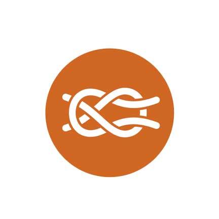 Knot three icon