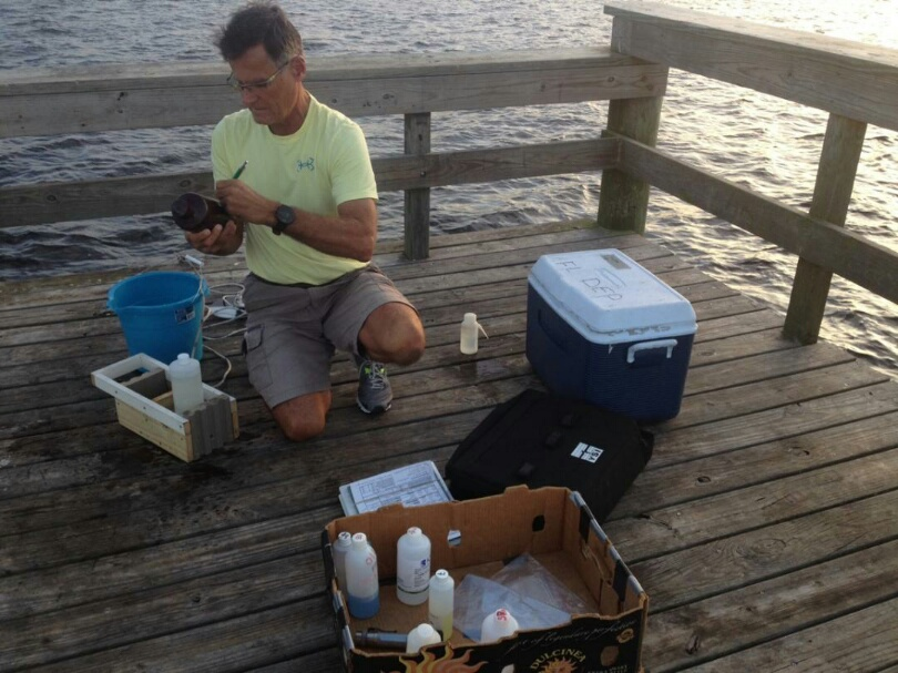 Volunteers are a critical component of the water quality monitoring program at Charlotte Harbor Aquatic Preserves