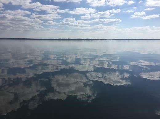 Calm waters at Yellow River Marsh Aquatic Preserve