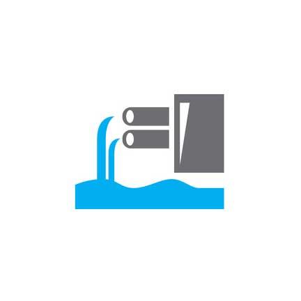 Water runoff icon