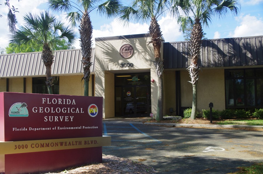 Florida Geological Survey - Building Frontage at 3000 Commonwealth Blvd Tallahassee, Florida