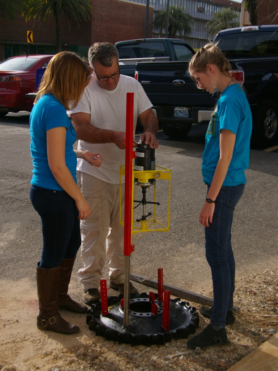 FGS Staff Prepping the Falmouth Acoustic Current Meter