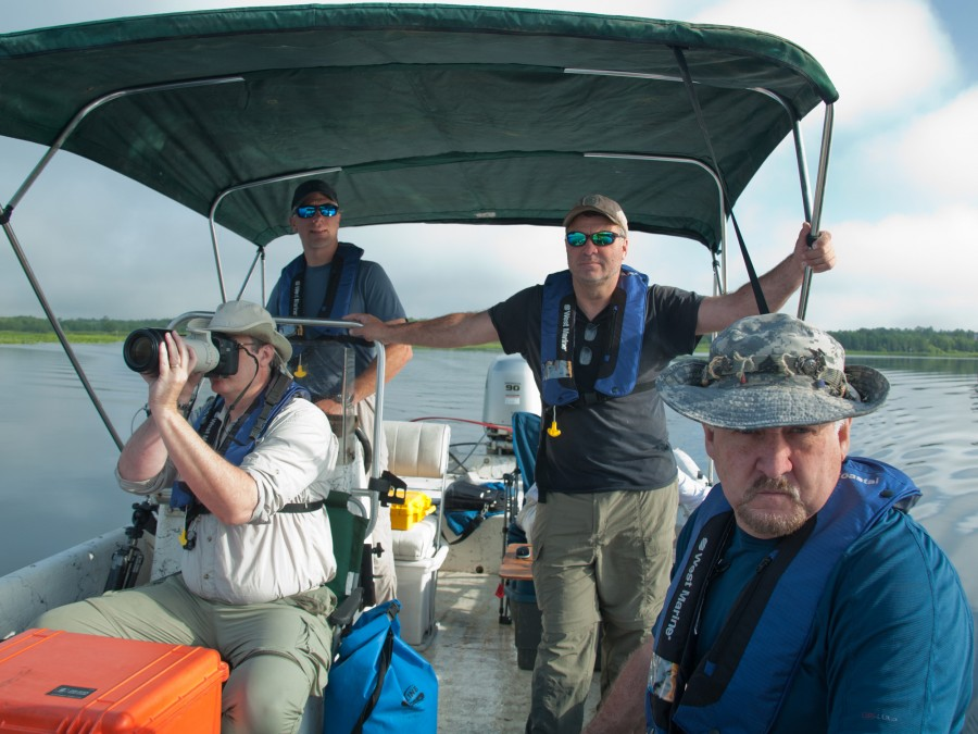 OFMS105 Field Work on Lake George, 2013