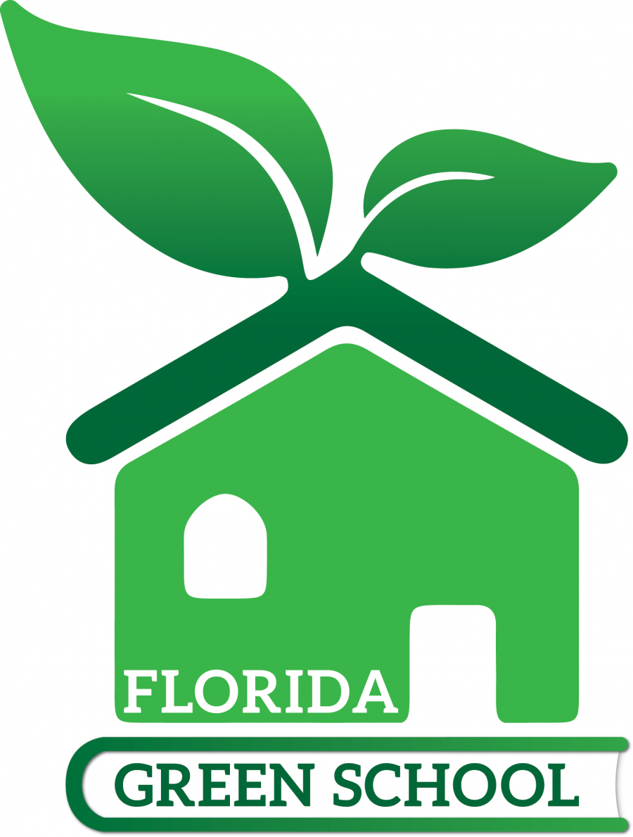 Florida Green School Designation Program logo