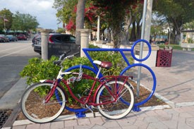 Greenways and Trails-Jai Subramanya-Lake Worth bike rack