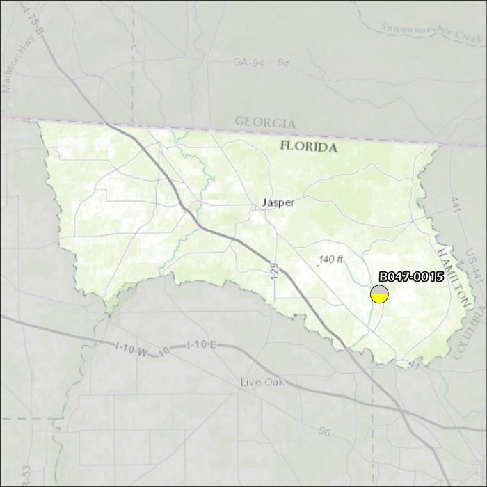 Hamilton County Air Monitoring Map