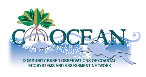 Community Based Observations of Coastal Ecosystems and Assessment Network banner