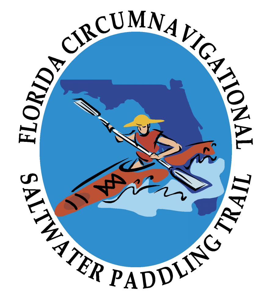 Official logo for the Florida Circumnavigational Saltwater Paddling Trail