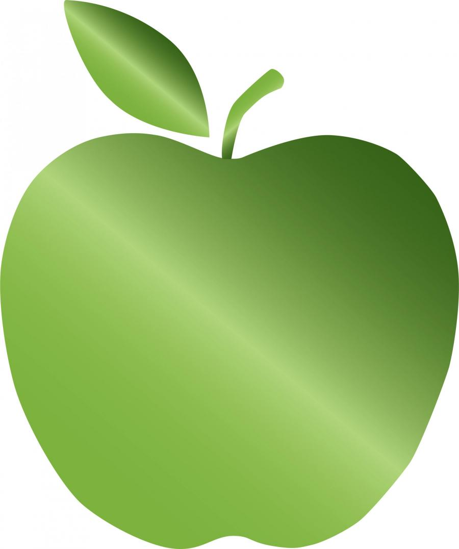 Graphic of the Green Schools Green Apple Designation