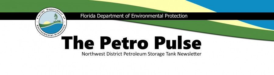 Header for the DEP Northwest District Petroleum Storage Tank Newsletter