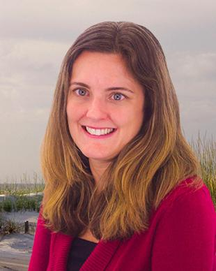 The official portrait of Florida Department Of Environmental Protections Communication Director, Lauren Engel.