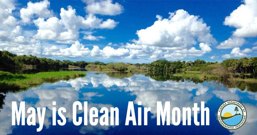 May is Clean Air Month