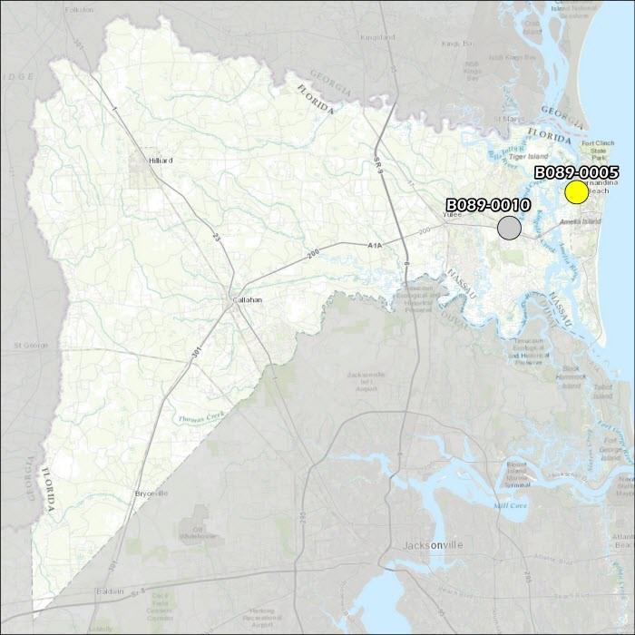 Nassau County Air Monitoring Map