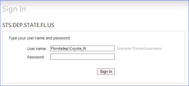 Access Screenshot