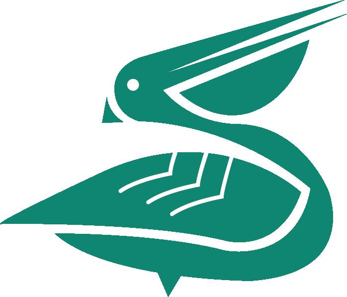 Pelican - green