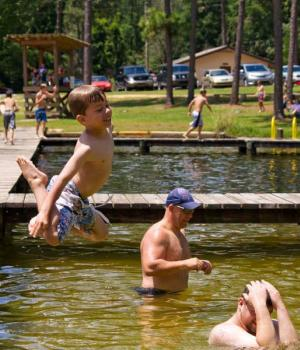 Blackwater River State Park - Swimming Area