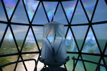 Bill Baggs Cape Florida State Park - View from Inside the Lighthouse