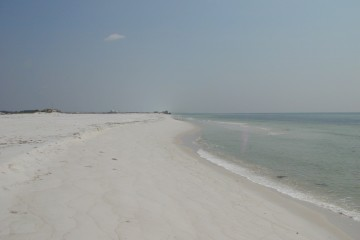 Florida Geological Survey Beach photo in Okaloosa County, Site 0A-06 in 2006