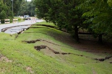 Florida Geological Survey Celosia Drive Sinkhole, West View, Madison Co, 2014