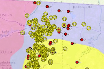 Subsidence Incident Reports | Florida Department of ... on nysdec map, noaa map, njdep map, srwmd map, dca map,