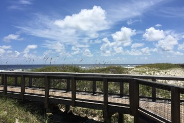 Wispy Clouds at St. George Island State Park