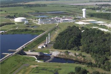 Lake Manatee Dam & Water Plant, Manatee County