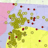 Florida Geological Survey Map Direct Screenshot Boreholes