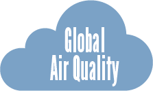 Compare air quality around the world on an interactive virtual globe
