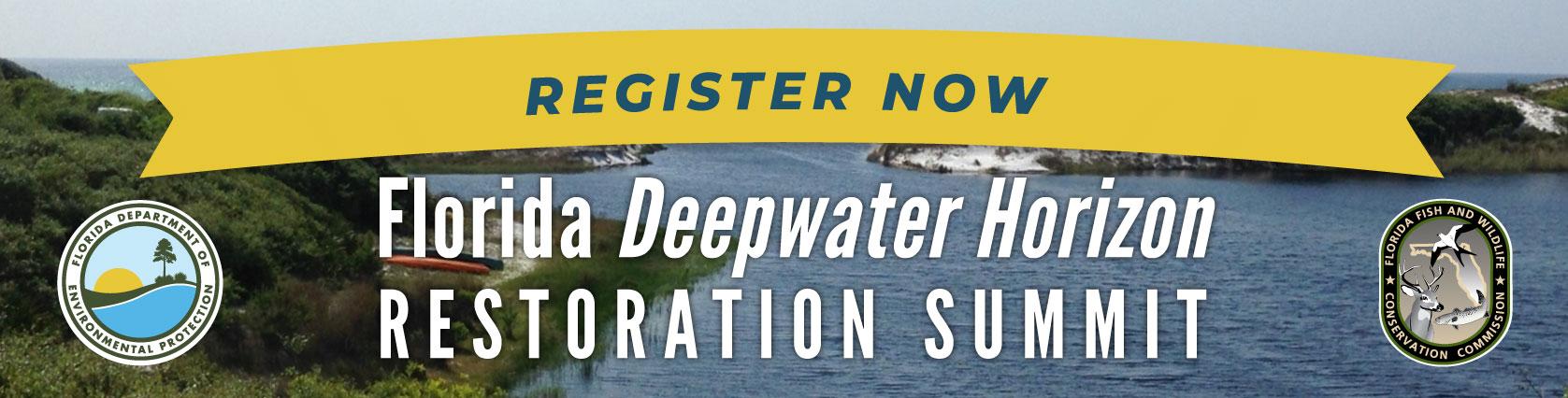 Register Now for the Deepwater Horizon Restoration Summit