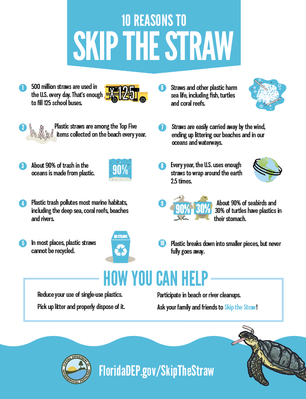 10 Reasons to Skip the Straw