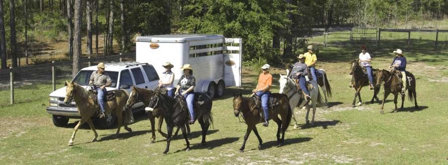 Cross-Florida-Greenway-horseback-riders-by-John-Moran