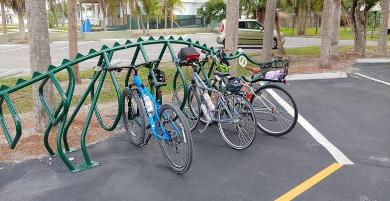 Everglades City bike rack by Katie Bernier, OGT