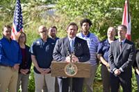 Governor Ron DeSantis Outlines Environmental Priorities at the University of Florida