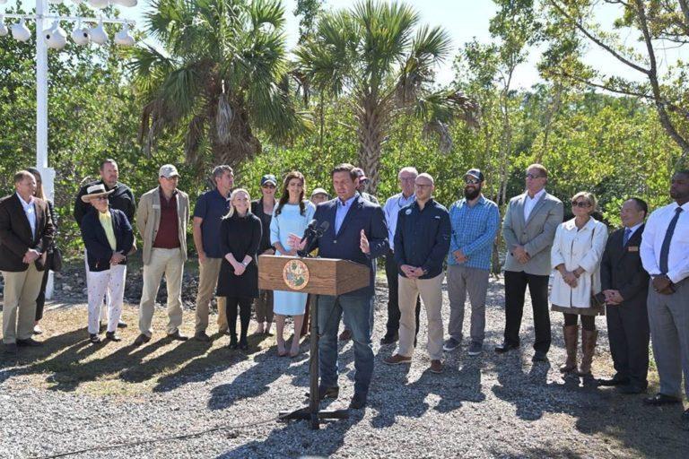 Governor Ron DeSantis Announces Major Water Policy Reforms
