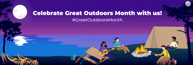 The Great Outdoors Monthly Campaign June header
