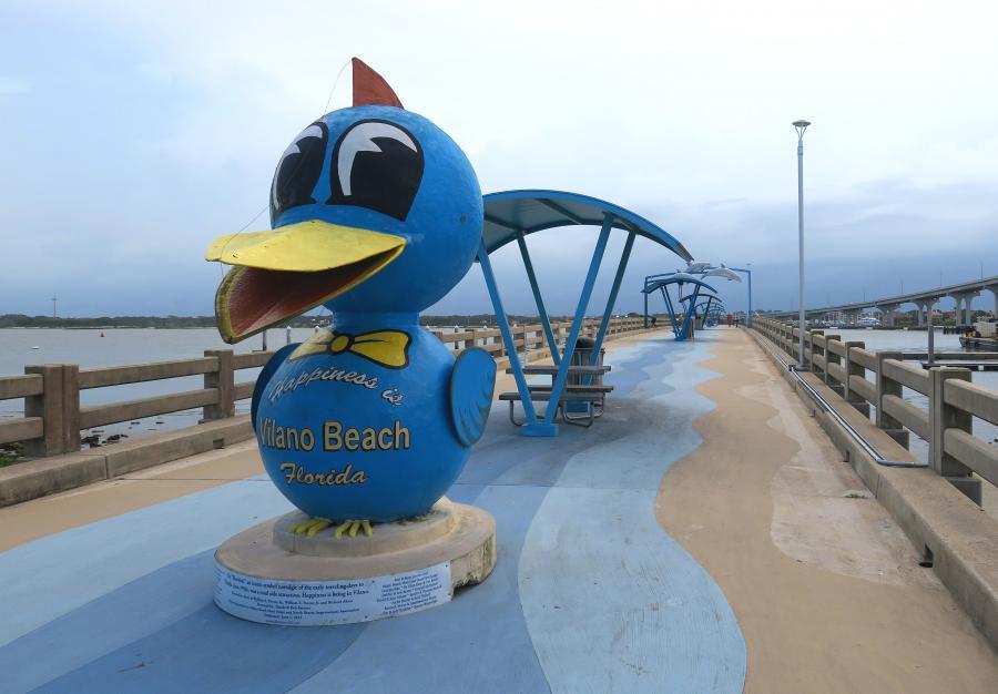 Vilano Beach public pier by Doug Alderson, OGT
