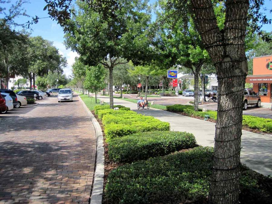 West Orange Trail in downtown Winter Garden