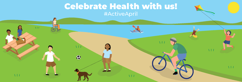 April health month banner