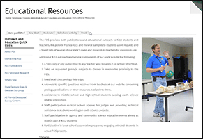 Kid Zone - resources geology